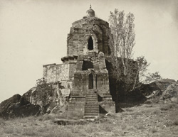 Kashmir. Temple of Jyeshteswara [Shankaracharya], on the Takht-i-Suliman Hill, near Srinagar. Probable date 220 B.C. 2